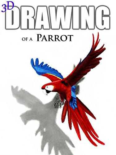 Clip: 3D Drawing of a Parrot