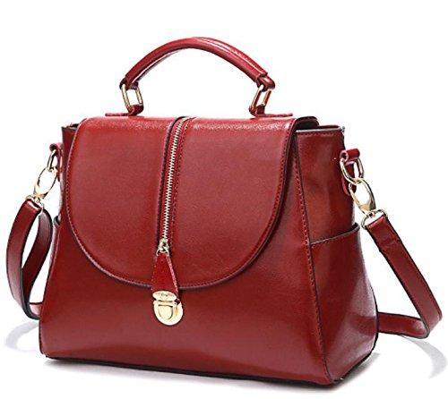 GQ-WOMEN BAG 2016 nuovo giubbotto di pelle borse in pelle Messenger di moda borsa borsa a tracolla di donne di baodan , 4