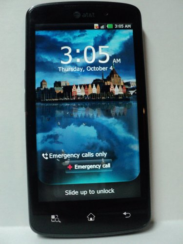 LG Nitro HD LG-P930 AT&T 4G LTE Unlocked Cell Phone No Warranty - AT&T Logos [AT