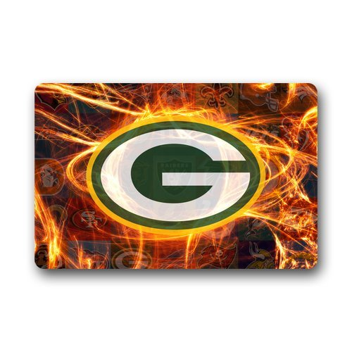 Green bay packers bath rug packers bath rug packers bath for Bath remodel green bay