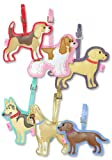 Fluff Poochie Luggage Tags - Beagle