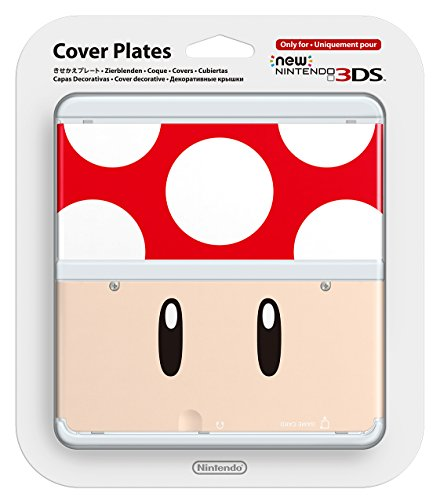 New Nintendo 3ds Cover Plates Toad