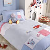 Humphrey's Little Red Car Single Bed Duvet & Pillow Case Set