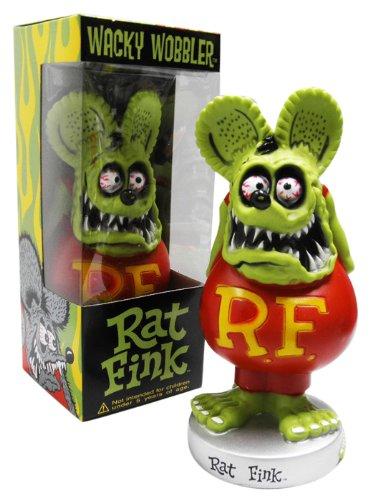 BIG DADDYエドロスの名キャラクター『RAT FINK』!★【ボビングヘッド★ラットフィンク(グリーン)】 FUNKO製RatFink☆アメリカン雑貨アメリカ雑貨