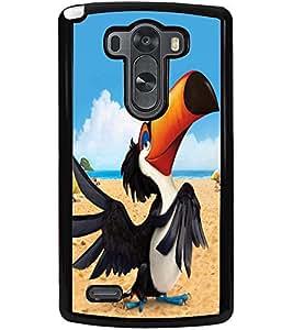 ColourCraft Funny Cartoon Design Back Case Cover for LG G3