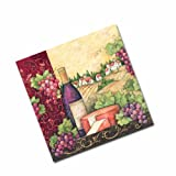 Keller-Charles Tuscan Wine Cocktail Napkins