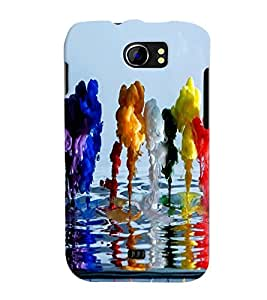 Micromax A110Q Canvas 2 Plus MULTICOLOR PRINTED BACK COVER FROM GADGET LOOKS