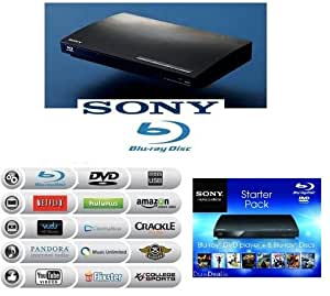 manufacturer refurbished SONY BDP-S185 Blu-Ray Disc Player by Sony