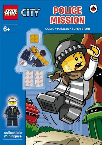 LEGO City: Police Mission Activity Book with Minifigure