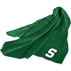 Brand New Michigan State Spartans NCAA Fleece Throw Blanket by Things for You