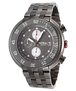 red line Men's RL-50038-GM-104 Driver Analog Display Japanese Quartz Grey Watch
