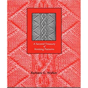 A Second Treasury of Knitting Patterns [Paperback]