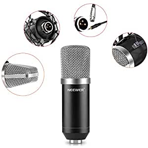 neewer nw 700 micro microphone condensateur enregistrement studio radio record kit. Black Bedroom Furniture Sets. Home Design Ideas