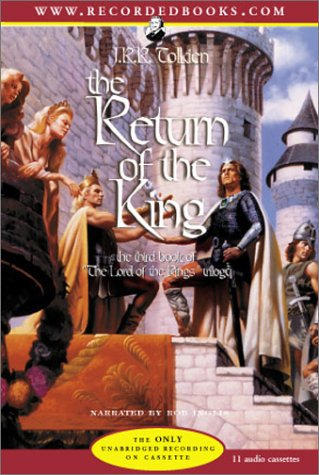 The Return of the King J. R. R. Tolkien Recorded Books Fiction Fantasy - Epic