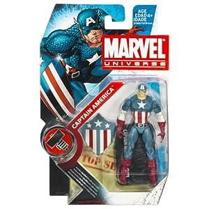 "Marvel Universe 3 3/4"" Action Figures - Captain America (Classic)"