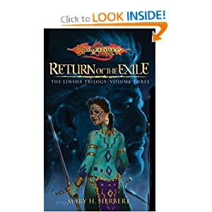 Return of the Exile (Dragonlance: Linsha Trilogy, Vol. 3) by Mary H. Herbert