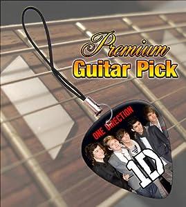 Printed Picks Company One Direction Premium Guitar Pick Phone Charm by Printed Picks Company