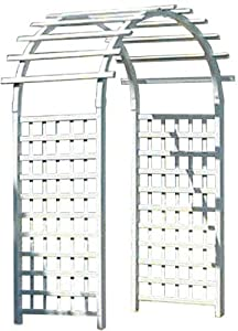 Duratrel Model 11161 White Country Garden Arbor (Discontinued by Manufacturer)