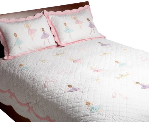 Find Cheap Pem America, Ballet Lesson Collection, Twin 2-Piece Quilt Set, Pink