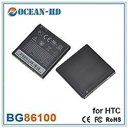Original Fing (TM) Full Backup / Full Cell Battery 1730 mAh For HTC Amaze 4G Titan II SENSATION XE X51 EVO 3D BG86100