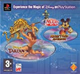 Disney PsOne Triple Pack: Tarzan / Mulan / Mickeys Wild Adventure