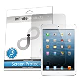Infinite Products VectorGuard Screen Protector Film for iPad Mini - (3 Pack) Clear