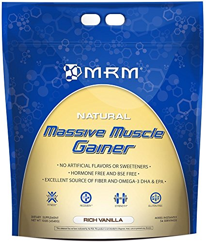 Mrm Massive Muscle Gainer, French Vanilla, 10-Pound Package
