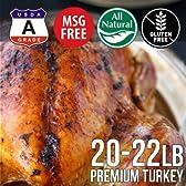 七面鳥肉 ターキー丸 約9500g (冷凍 生) 20-22ポンド アメリカ産【販売元:The Meat Guy(ザ・ミートガイ)】