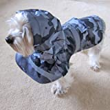 Alfie Couture Designer Pet Apparel - Waterproof Camouflage Raincoat - Color: Camouflage, Size: S