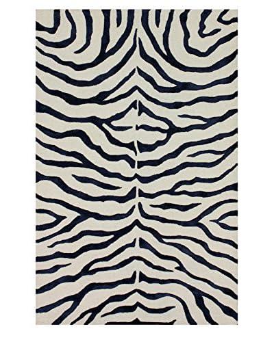 nuLOOM Hand Tufted Plush Zebra Rug
