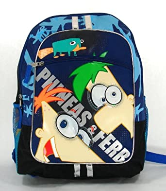 Phineas and Ferb Large Backpack