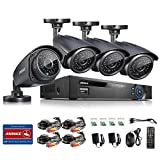SANNCE 8CH Full 960H CCTV Video Security DVR QR Code Scan Easy Setup System with 4 Indoor/Outdoor 900TVL Weatherproof Security Surveillance Camera System Quick & Easy Smartphone Access NO Hard Drive - Best Reviews Guide