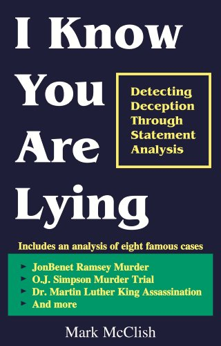I Know You Are Lying, by Mark McClish