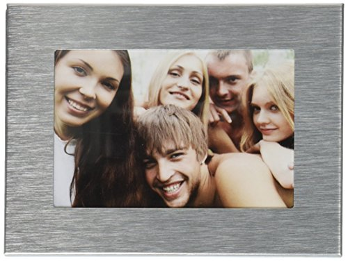 Visor Frames (Brushed Silver) - A Picture Frame for Your Car (Customer Pictures compare prices)
