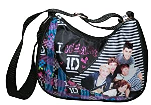 1D One Direction Purse with Adjustable Shoulder Strap from Accessory Innovations