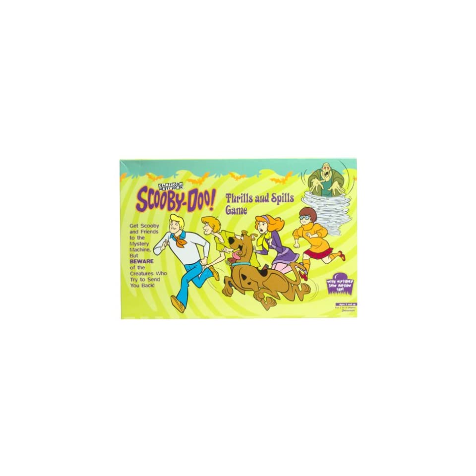 Scooby Doo Thrills and Spills
