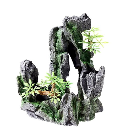 rock-cave-135x-11x-165cm-aquarium-ornament-decoration-fish-tank-stone-mountain-view-resin