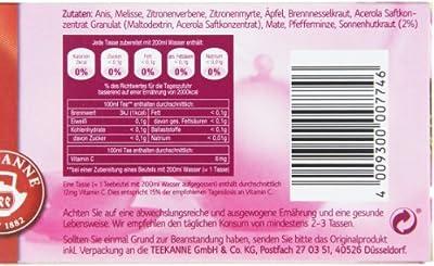 Teekanne Gesunde Abwehr Kräuterteemischung 20 Beutel, 2er Pack (2 x 40 g Packung) von Teekanne auf Gewürze Shop