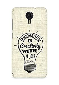 Amez Innovation is Creativity with a Job to do Back Cover For Micromax Canvas Xpress 2 E313