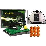 OptiShot Home Simulator Bundle - Includes Callaway Net, 18 FREE HX Practice Balls, 3 Extra US Open Virtual Courses