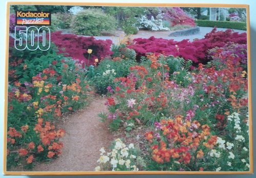 The Friendship Garden 500 Piece Puzzle by Kodacolor