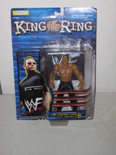 The Rock WWF King Of The Ring - 1