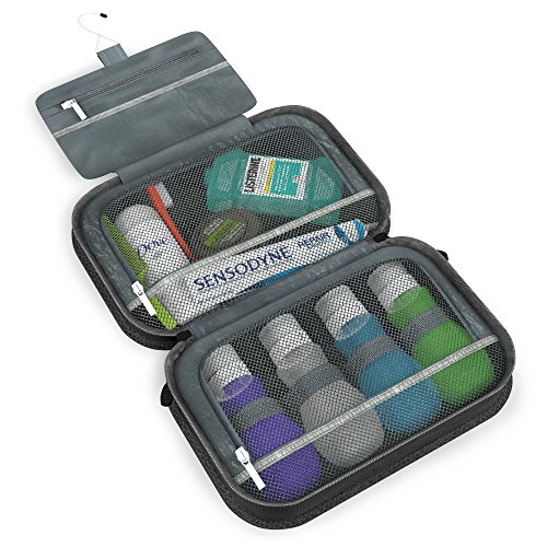 11. Dot&Dot Hanging Toiletry Bag for Men, Women and Kids - Organizer for Travel Accessories and Toiletries