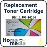 Home Media, Dell 593-10260 - Yellow Toner Cartridge for DEll Color Laser Printer models: 1320, 1320C, 1320CN, 1320DN
