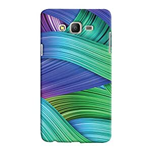 ColourCrust Samsung Galaxy ON5 Mobile Phone Back Cover With Abstract Art - Durable Matte Finish Hard Plastic Slim Case