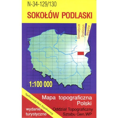 Sokolow Podlaski Region Map