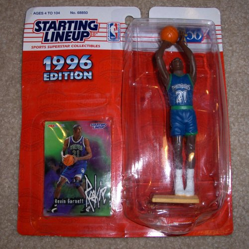 Starting Lineup NBA Basketball Kevin Garnett Minnesota Timberwolves 1996 Action Figure