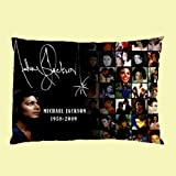 Michael Jackson Pillow Case Two Side Cover Rectangle Pillow Cases Amazon.com