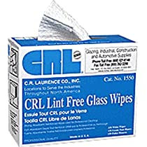 CRL Glass Wipes