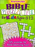 img - for Bible Puzzles for Kids Ages 8-12: Reproducible (Teacher Training Series) book / textbook / text book